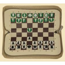 Шахматы магнитные карманные на молнии