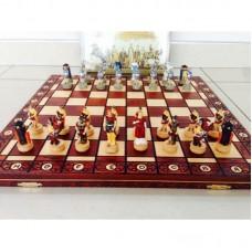 """Шахматы """"Древний Рим и Греция"""" с деревянной доской складной"""