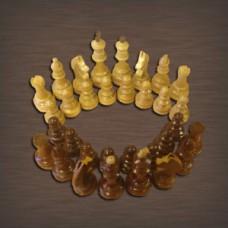 Шахматные фигуры турнирные утяжеленные