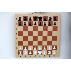 Шахматная доска демонстрационная малая