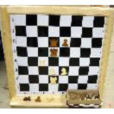 Шахматная доска демонстрационная деревянная